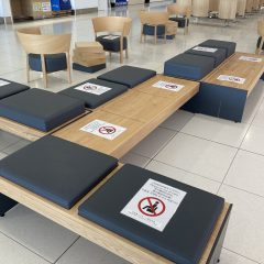 共有空間での席ビジネス